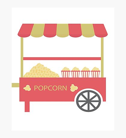 Pop Corn Photographic Print