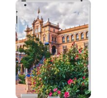 Plaza de Espana - Seville - HDR  iPad Case/Skin