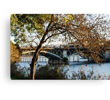 Seville - the Triana bridge Canvas Print