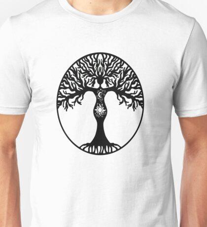 Pagan Goddess Tree Unisex T-Shirt