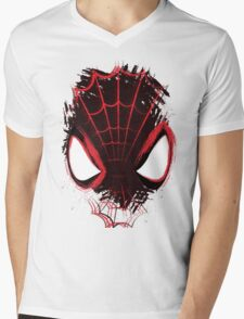 Web's Eye View Mens V-Neck T-Shirt