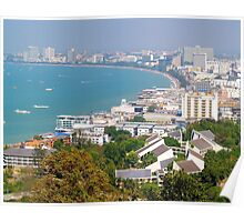 Pattaya Beach in Thailand Poster