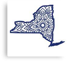 New York Mandala Canvas Print