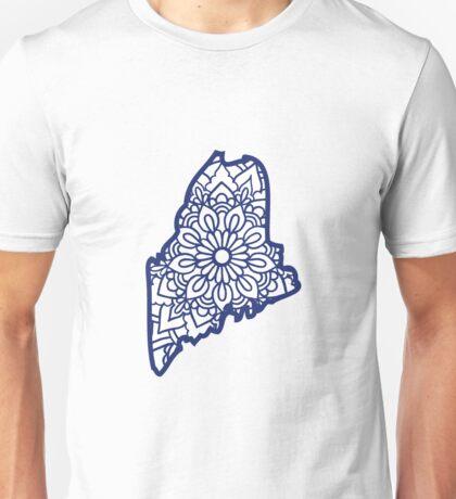 Maine Mandala Unisex T-Shirt