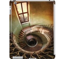 Spiral stairs and the window iPad Case/Skin