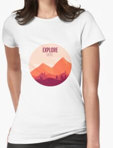 Explore More Womens Fitted T-Shirt