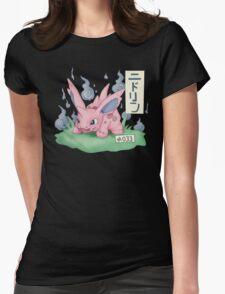 Nidorino Japanese Pokemon Womens Fitted T-Shirt