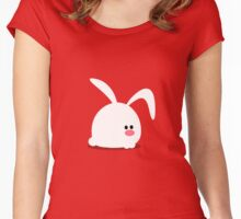 Lone Bunny Women's Fitted Scoop T-Shirt