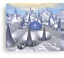 Science Fiction Landscape Canvas Print