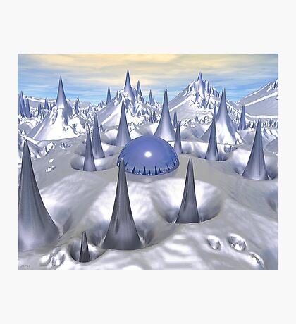 Science Fiction Landscape Photographic Print