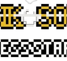 DANK Souls 8 Bit Title Screen. Sticker