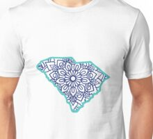 South Carolina Mandala Unisex T-Shirt
