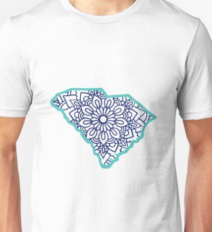 South Carolina Mandala Unisex T-Shirt