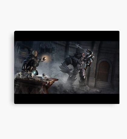 Dungeon Ambush Canvas Print