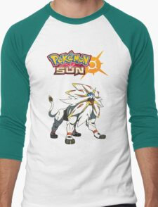 Pokemon Sun Moon Men's Baseball ¾ T-Shirt