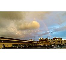 Rainbow Over Sandusky 2 Photographic Print