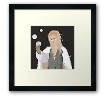 Jareth Brought You A Gift Framed Print