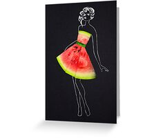 Taste of fashion. Greeting Card