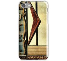 Vintage Arrow Motel Sign, Lompoc, CA iPhone Case/Skin
