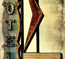 Vintage Arrow Motel Sign, Lompoc, CA by Honey Malek