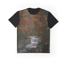 The Beautiful Swift River In Autumn Graphic T-Shirt