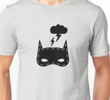 Kids pattern with super hero mask Unisex T-Shirt