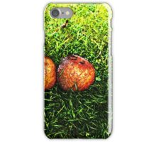 Rotting Apples. iPhone Case/Skin
