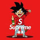 supreme feat goku by Catherinejols