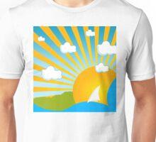 Funky Summer Unisex T-Shirt