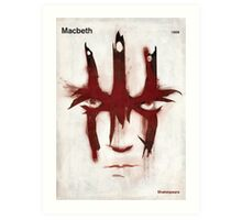 William Shakespeare - Macbeth Art Print