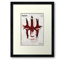 William Shakespeare - Macbeth Framed Print
