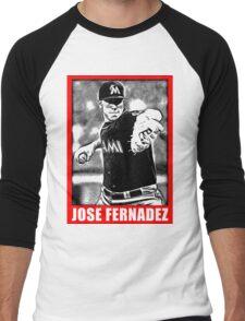 José Fernández Men's Baseball ¾ T-Shirt