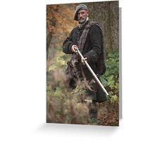 Outlander - Dougal - Boar Hunt Greeting Card