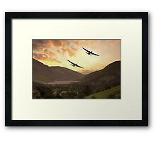 When Vera Came To Play Framed Print