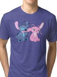 Angel and Stitch Tri-blend T-Shirt