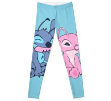 Angel and Stitch Leggings