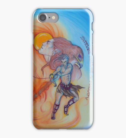 Between the Shadows iPhone Case/Skin