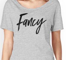 FANCY TEE | TEXT FONT T-SHIRT Women's Relaxed Fit T-Shirt