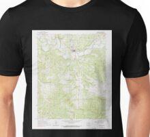 USGS TOPO Map Arkansas AR Yellville 259926 1966 24000 Unisex T-Shirt