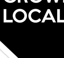 Nevada Grown Local NV Sticker
