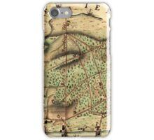 Map Of Camden 1778 iPhone Case/Skin