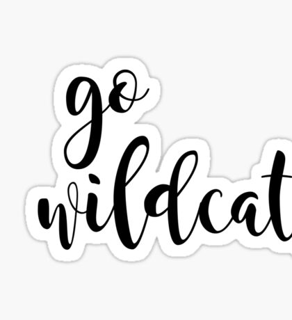 go wildcats Sticker