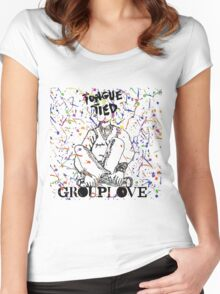 Grouplove - Tongue Tied Women's Fitted Scoop T-Shirt