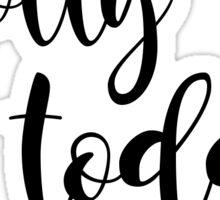 hotty toddy Sticker