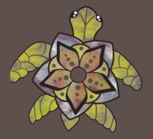 Watercolor Turtle One Piece - Short Sleeve