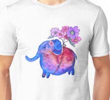 Elephant Floating Unisex T-Shirt