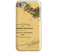 Gettysburg Railroad 1839 iPhone Case/Skin