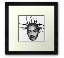 Coolio Head Framed Print
