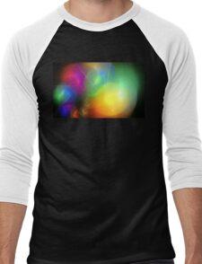 Helium Rainbow Men's Baseball ¾ T-Shirt