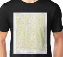 USGS TOPO Map Arkansas AR Strickler 259694 1970 24000 Unisex T-Shirt